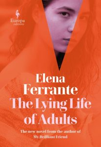 Book cover for Elena Ferrante's The Lying Life of Adults